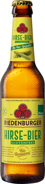 RIEDENBURGER Hirse-Bier Glutenfrei